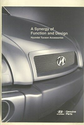 2006 Hyundai Tucson SUV Accessories Brochure ww3080