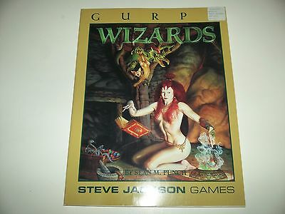 GURPS Wizards - Steve Jackson Games - Great Shape