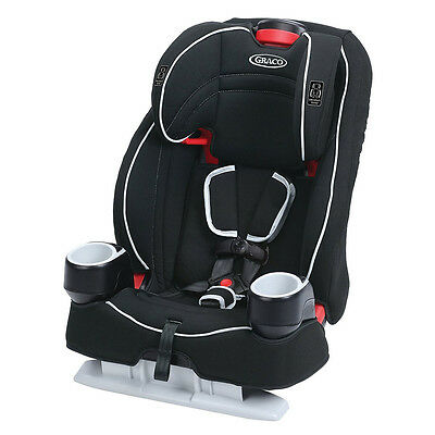 Graco Atlas 65 2 In 1 Harness and Highback Booster Car Seat, Glacier | 1946242