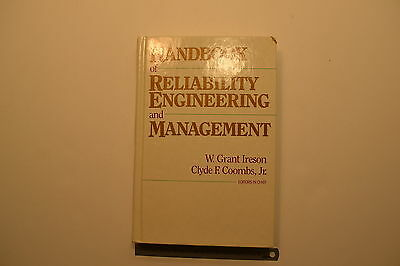 #JB35 HANDBOOK OF RELIABILITY ENGINEERING AND MANAGEMENT Book Copyright 1988