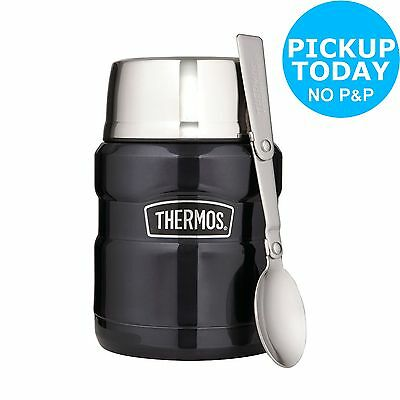 Thermos 0.47 Litre Stainless King Food Flask - Blue -From the Argos Shop on ebay