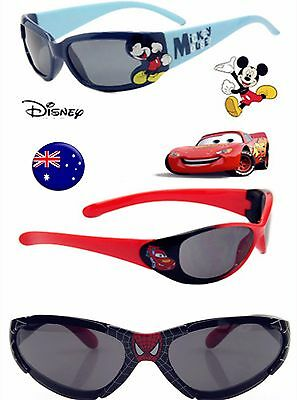 Children Boy Kids Mickey Spiderman McQueen Car UV protect beach eye sunglasses