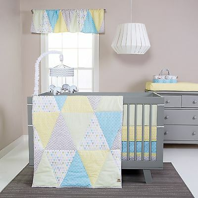 Trend Lab Triangles Baby Nursery Crib Bedding CHOOSE FROM 3 4 5 PC Set