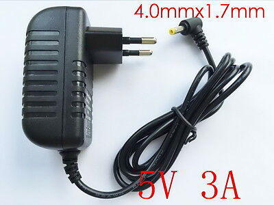 AC Converter Adapter DC 5V 3A Power Supply EU plug 3000mA 15W DC 4.0mm x 1.7mm
