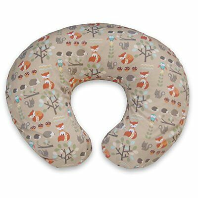 Boppy Pillow Slipcover, Classic Fox Forest/Tan New