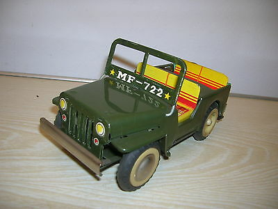 Red China Tintoy - Willys Army Jeep MF 210 / MF 722 - 60er/70er Jahre