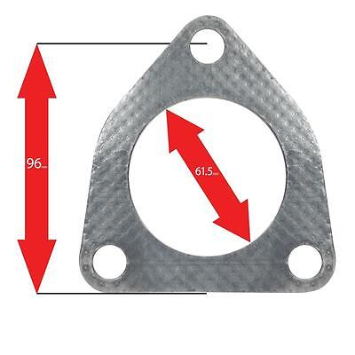 Apexi Exhaust for  - Exhaust Gasket b? Triangle 3-Bolt: Honda S2000 CAT, (PCD96