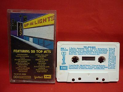 1982 Up In Lights Various Artists Cassette Tape Festival Emi
