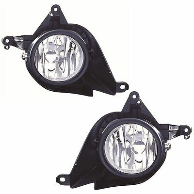 Honda Cr-V 2007-4/2010 Front Fog Light Lamps 1 Pair O/s & N/s