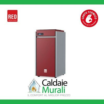 Caldaia A Pellet Red Heating Modello Selecta 25 Kw 22.6 - ✔ New Model