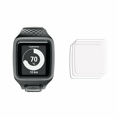 2 Screen Cover Guards Shield Film Foil for TomTom Spark GPS Smart Watch