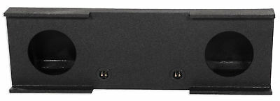 "Rockville Dual 12"" Sub Enclosure Box For 2007-13 GMC/Chevy Sierra/Silverado Crew"