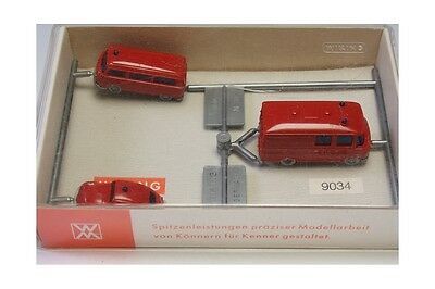N 1:160 Wiking 9034 Feuerwehr bomberos coche cars scale trains