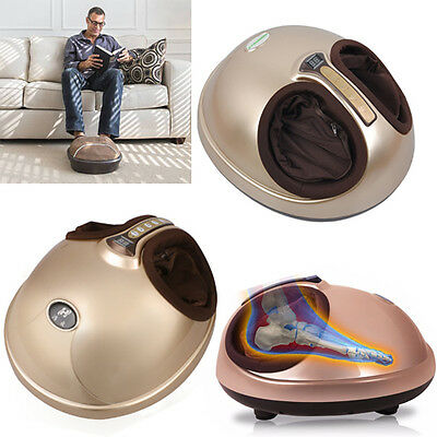 Shiatsu Foot Massager With Heat Timer Kneading Vibrating Relax Ache Relief New