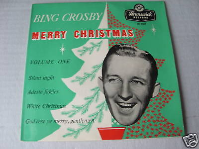 Bing Crosby  (Ep Record) Merry Christmas
