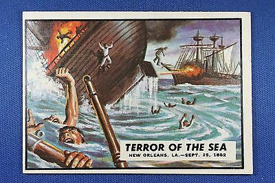 1962 Topps Civil War News - #31 Terror of The Sea - Excellent+++ Condition