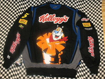 Kyle Busch Frosted Flakes Adult NASCAR Jacket by JH Design - Size Medium