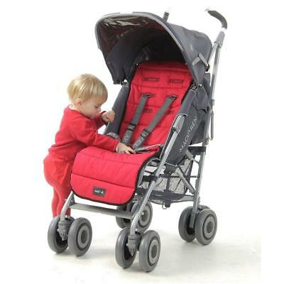 Outlook Travel Comfy Pure Cotton Liner for Pushchairs & Prams (Red)