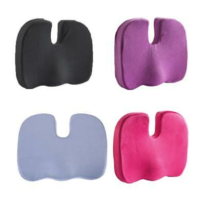 Memory Foam Seat Cushion Pillow Coccyx Orthopedic Pad for Chair Car Office Home