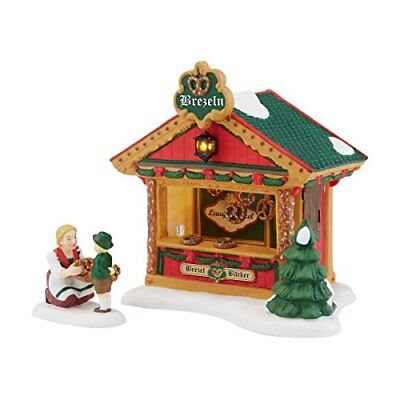 Department 56 Alpine Village Christmas Market The Pretzel Booth Accessory,