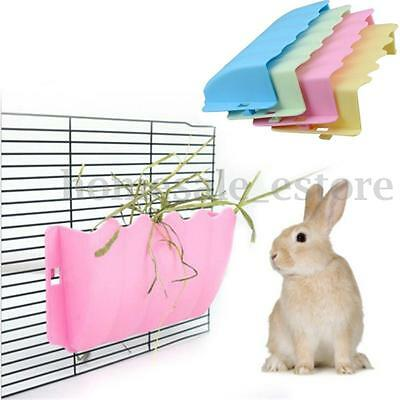 Plastic Feed Dispenser Hanging Guinea Pig Hamster Rat Rabbit Pet Supply Rack