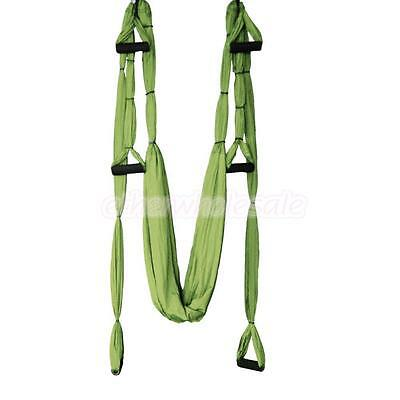 Décompression Anti-Gravity Yoga swing Trapeze Sling Inversion Hammock vert