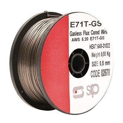 SIP 02678 Flux Cored (gasless) Welding Wire 0.8mm 0.9kg
