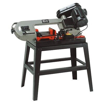 """SIP 07288 150mm 3 SPEED SWIVEL METAL CUTTING BANDSAW 6"""" with blade & stand"""