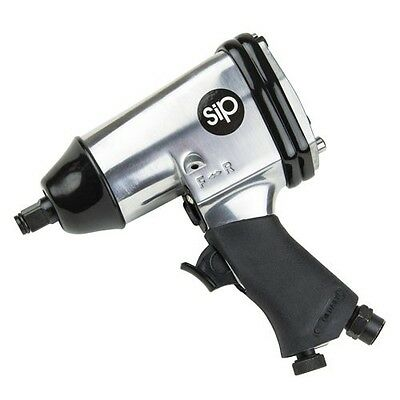 SIP 06787 1/2in Air Impact Wrench Tool 312Nm 230ft/lbs Torque 90PSI 4CFM