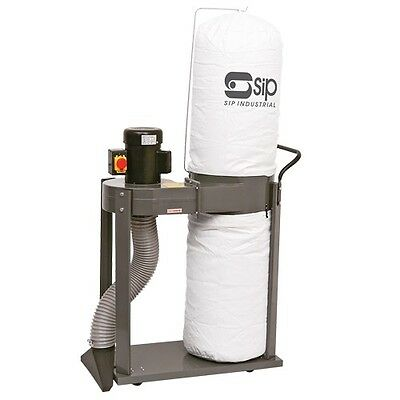 SIP 01952 1hp WORKSHOP DUST EXTRACTOR with VACUUM extraction hoover 230v 13a