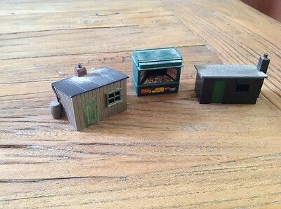Vintage 3 Small Model Railway Buildings