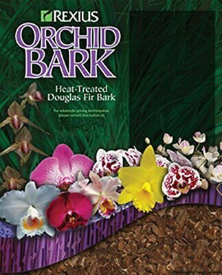 Rexius Douglas Fir Bark for Orchids - Medium Chip Size - 2 1/2 Gallon