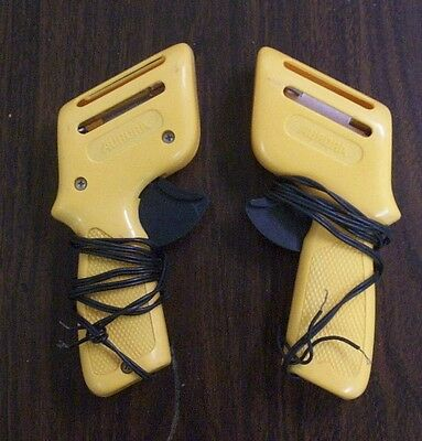 Aurora Vintage slot car controllers, Yellow Used