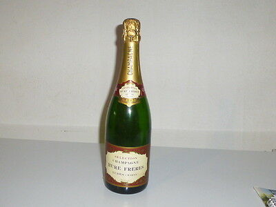 Bouteille Champagne Verre Factice Boite Hure Freres Ancienne