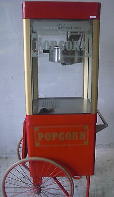 Used G8/GPC-8 Star Popcorn Popper Cart, Excellent Free Shipping!!!