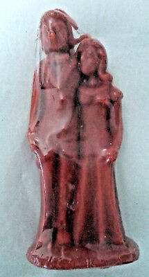 Red Male & Female Marriage Image Candle (Wicca Spell Pagan Hoodoo Wedding)