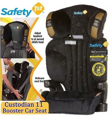 New Safety 1st Custodian 11 Booster Kids Car Seat with Air Protect Colour Night