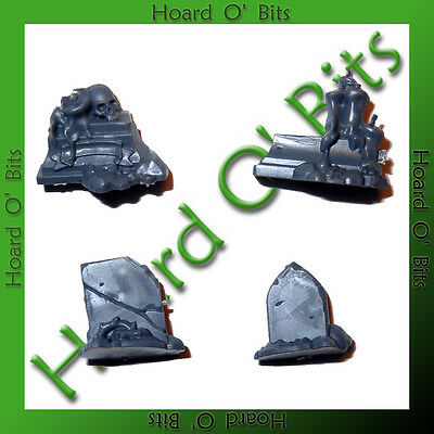 Warhammer Bits Vampire Counts Malignants Spirit Hosts - Gravestones Base Decor