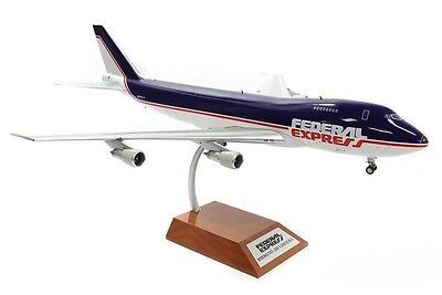 Inflight WB-747-Fedex Federal Express Boeing 747 N631FE Diecast 1/200 Jet Model