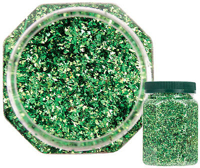 Glitter GREEN 250g - Ideal for art and craft activities