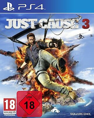 Just Cause 3 Day One Edition inkl. DLC - PS4 Playstation 4 Spiel - NEU OVP