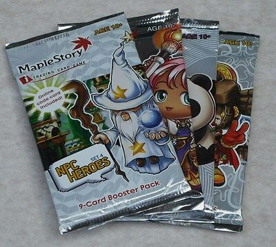 Maple Story Tcg Npc Heroes 24 Pack Booster Box New & Sealed