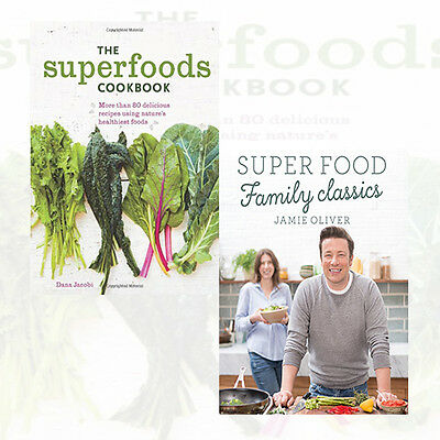 Super food family classics the superfoods cookbook 2 books super food family classics the superfoods cookbook 2 books collection set new forumfinder Choice Image