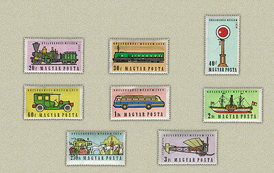 Hungary 1959. Transport ships / trains / aviation nice set MNH (**)