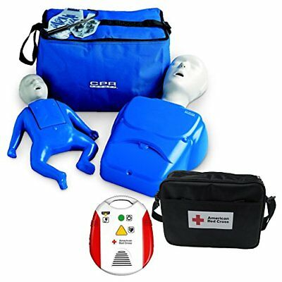 Beginner Instructor Package - CPR Prompt Manikins - Red Cross AED Trainer New