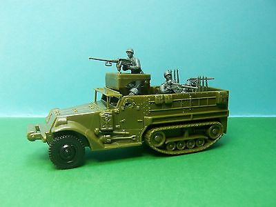Airfix compatible 1:32 scale American Halftrack (green)