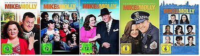 Mike & Molly - Season / Staffel 2-6 DVD Set * NEU OVP *(and,und) inkl. Staffel 6