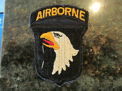 US Army 101st Airborne Division patch w/ original label 1 Piece D Day