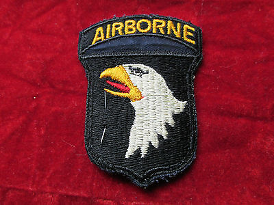 US Army 101st Airborne Division patch w/ original store tag 1 Piece D Day  #B