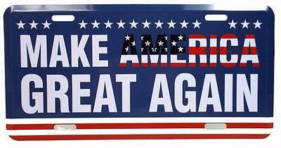 Make America Great Again Car Tag License Plate Heavy Duty Metal Trump President